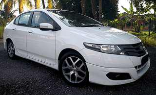 2010 HONDA CITY 1.5 S I-VTEC FULL LOAN
