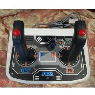 Sega Saturn twin stick virtua on