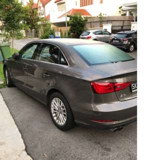 Audi A3 for Long Term Rental, Monthly basis