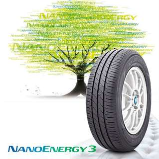 New tyre 185-65-15 toyo nano energy 3