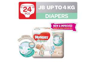 Blessing Huggies just born diapers