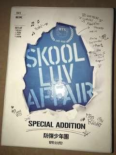 絕版 ❣️ BTS SKOOL LOV AFFAIR CD + 2 DVD