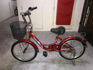 Red Dura Cruiser Bicycle