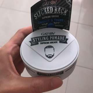 Gatsby styling pomade supreme grease