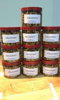 Home made organic granola