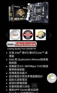 Gigabyte GA-H97N-Wi-Fi itx motherbroad 技嘉itx主機板