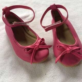 sugar kids pink shoes