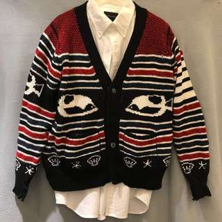 Thom Browne cotton blend cardigan