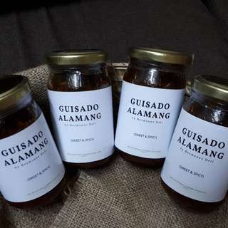 Balikbayan Treat - Guisado Alamang in Sweet and Spicy Flavor