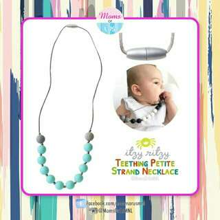 ‼️NEW‼️ITZY RITZY Teething Petite Strand Necklace(TURQUOISE)