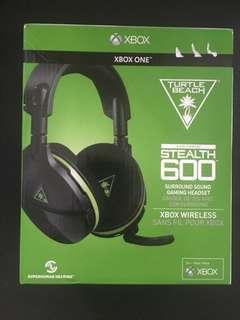 Stealth 600 TurtleBeach + xbox usb dongle