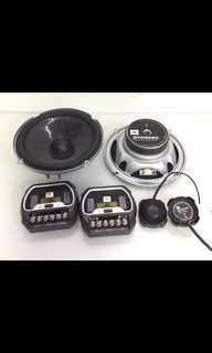 "JBL GTO608C 6-1/2"" 2-Way Grand Touring Series Component Car Speakers System. Car Radio And Audio system."