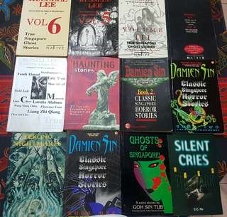 Singapore Ghost Story Books