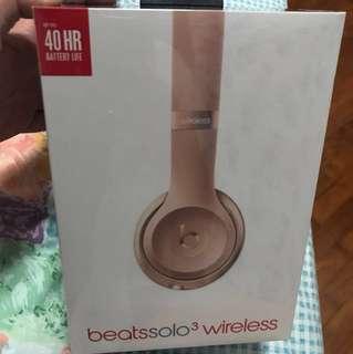 Beats Solo 3 wireless ~ headphone / Beats Solo 3 / music / new