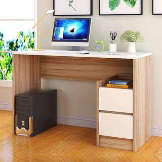 Office Desk with Drawers Computer Table