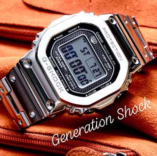 35th GSHOCK ANNIVERSARY DIVER 200M CASIO SPORTS WATCH : 1-YEAR OFFICIAL G-SHOCK WARRANTY with Wireless SMARTPHONE LINK Best For Most ROUGH Users & Unisex : GMW-B5000D-1DR / GMWB5000D / GMWB5000TFG / GMW5000 / GMW-5000 / GMWB5000 / GMW5000D