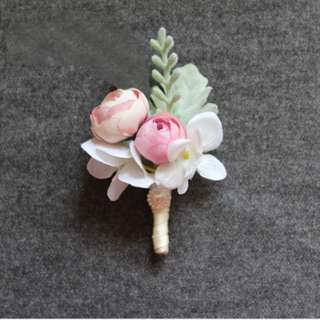 Wedding Boutonniere Flowers Pin