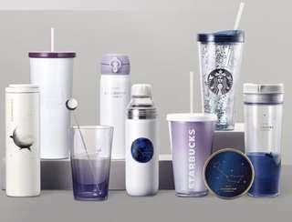 韓國Starbucks 夏天星空系
