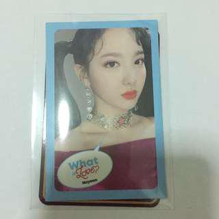 Twice Photocard Nayeon What Is Love