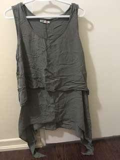 Olive green dress or shirt
