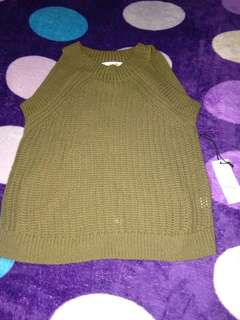 knitted blouse