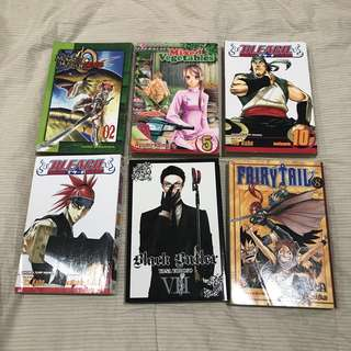Assorted English Manga from Kinokuniya
