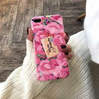 🌻BRANDNEW🌻 Iphone 7 & 8 Spirited Away Pink Floral Soft Case