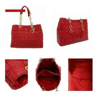 Christìan Dior Chain Tote Bag Item no Tlv002857 Size 36 x 27 x 14.5cm Price 55,990 pesos