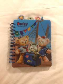 BN Authentic Disney Duffy Ring Notebook