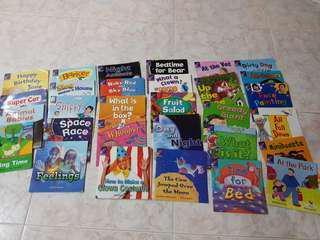 Set A Rigby Rocket readers early readers