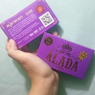 Alada instant whitening soap