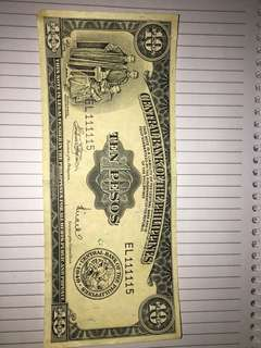 Demonetized Philippine Money (Old paper money)
