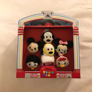 BN Disney Mickey and Friends 1950's Diner Micro Tsum Tsum Set