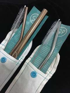 NEW SIP Steel Straws