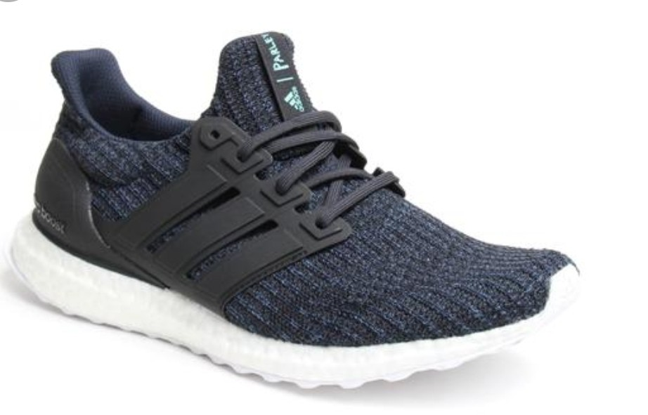 1a6d1e68eb6f5 INSTOCK) Adidas Blue Parley Ultra Boost 4.0 Primeknit sneakers ...