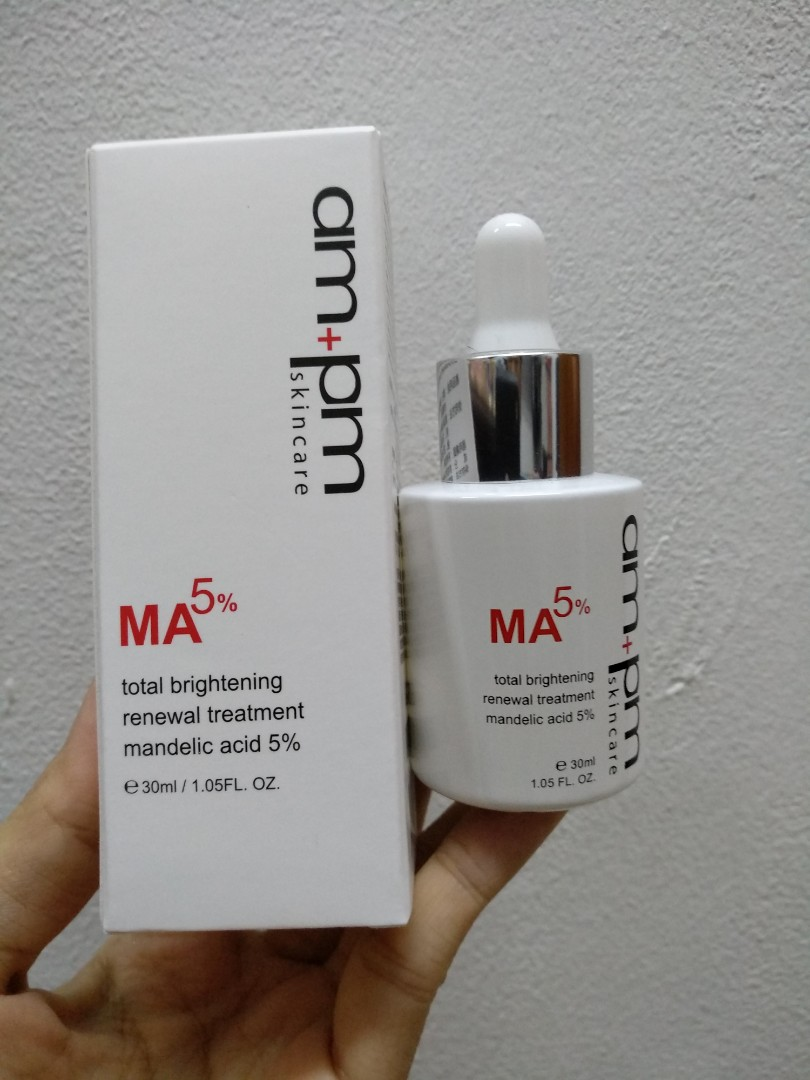 679582add0b am + pm Mandelic Acid 5%, Produk Badan dan kecantikan, Produk Badan di  Carousell