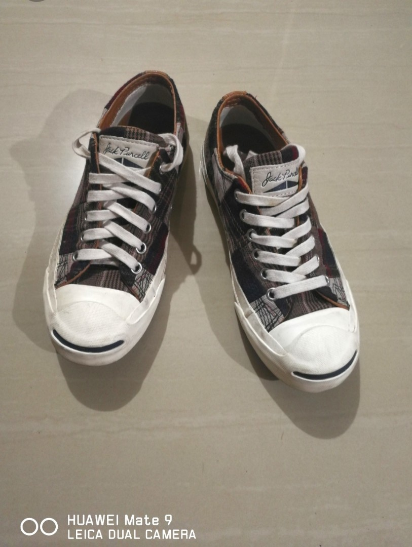 f22047ee2fac Authentic Converse Jack Purcell Canvas+Leather Low Cut Sneakers ...