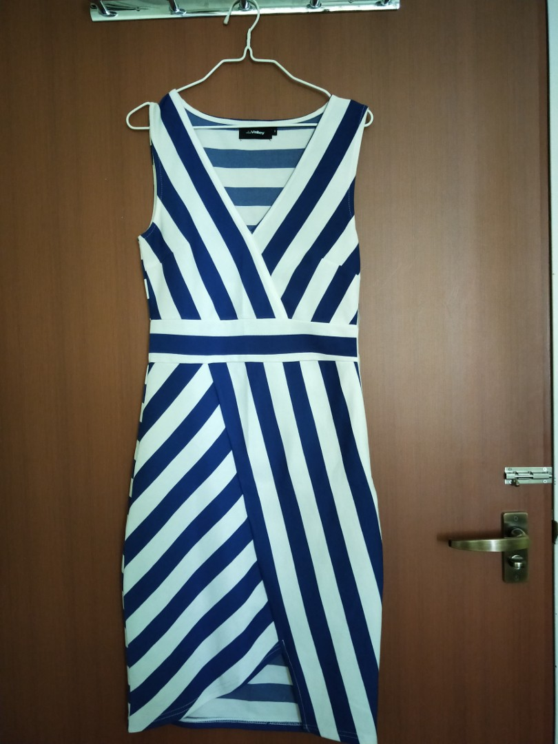 Clothing, Shoes & Accessories Cute & Sexy Blue And Black Bustier Size S Cheapest Price From Our Site