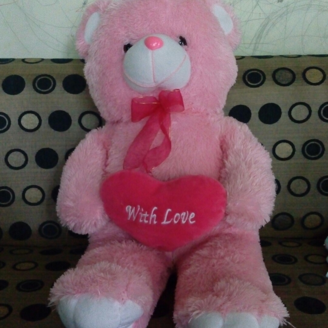 Boneka Beruang Bear Jumbo Toys Collectibles On Carousell Loved