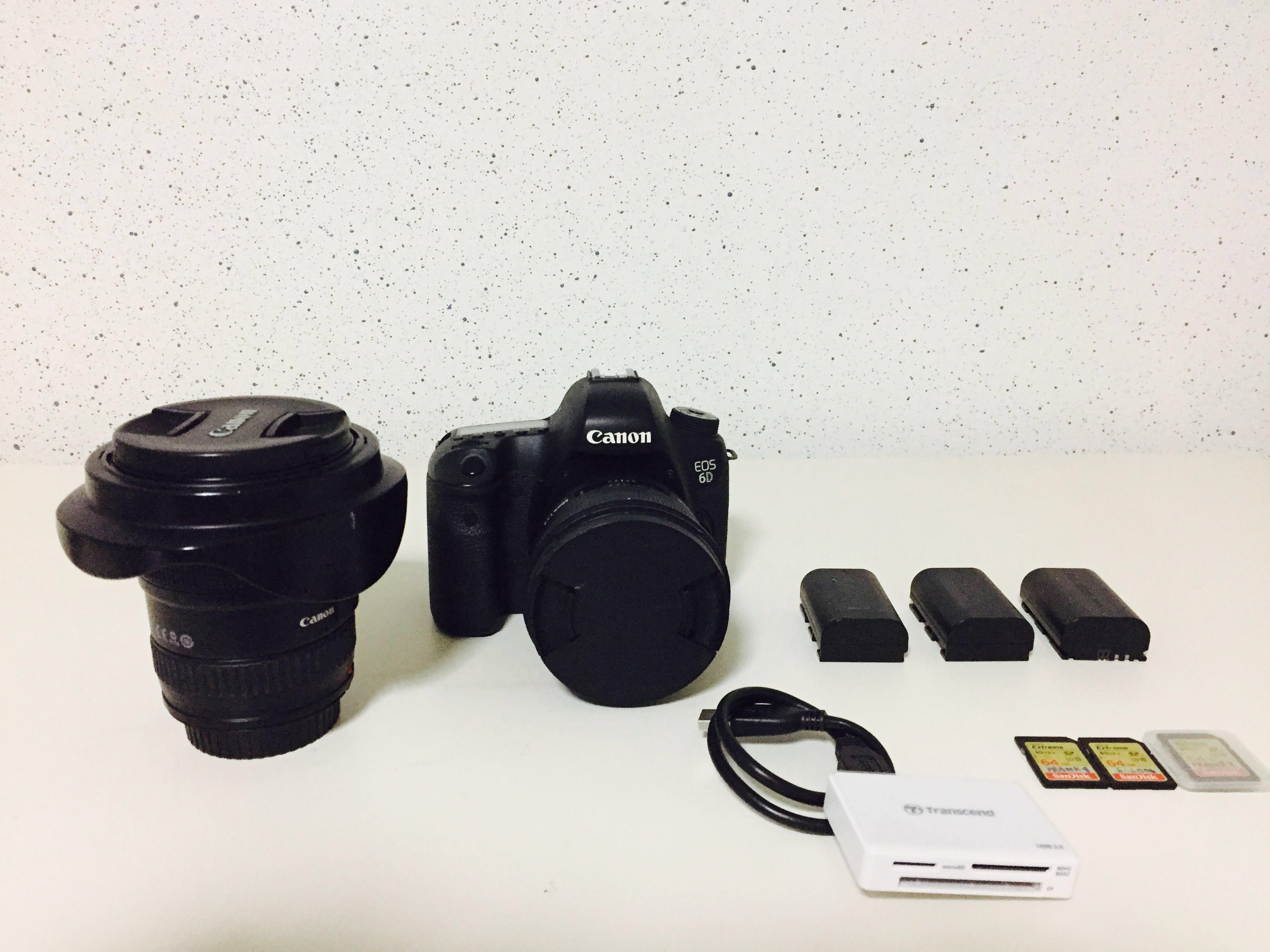 Canon 6D Full Frame package for rental, Photography, Cameras, DSLR ...