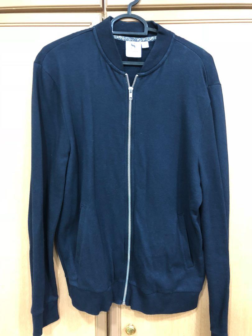 c0ed5e34d22b Cotton bomber jacket from topman