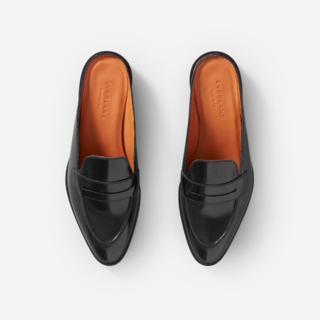 f895ffd3757 Everlane The Modern Penny Loafer Mule (6)