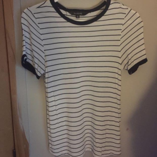 Glassons Striped T Shirt