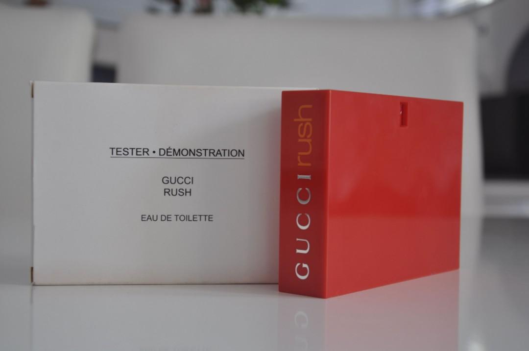b3c04e33e Gucci Rush Eau de Toilette 75ML TESTER PACK, Produk Badan dan kecantikan,  Lain-lain di Carousell