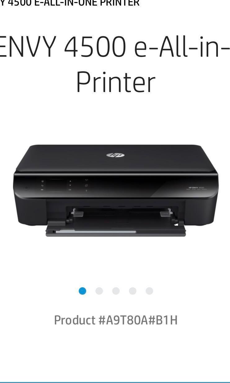 Printer Hp Envy 4500