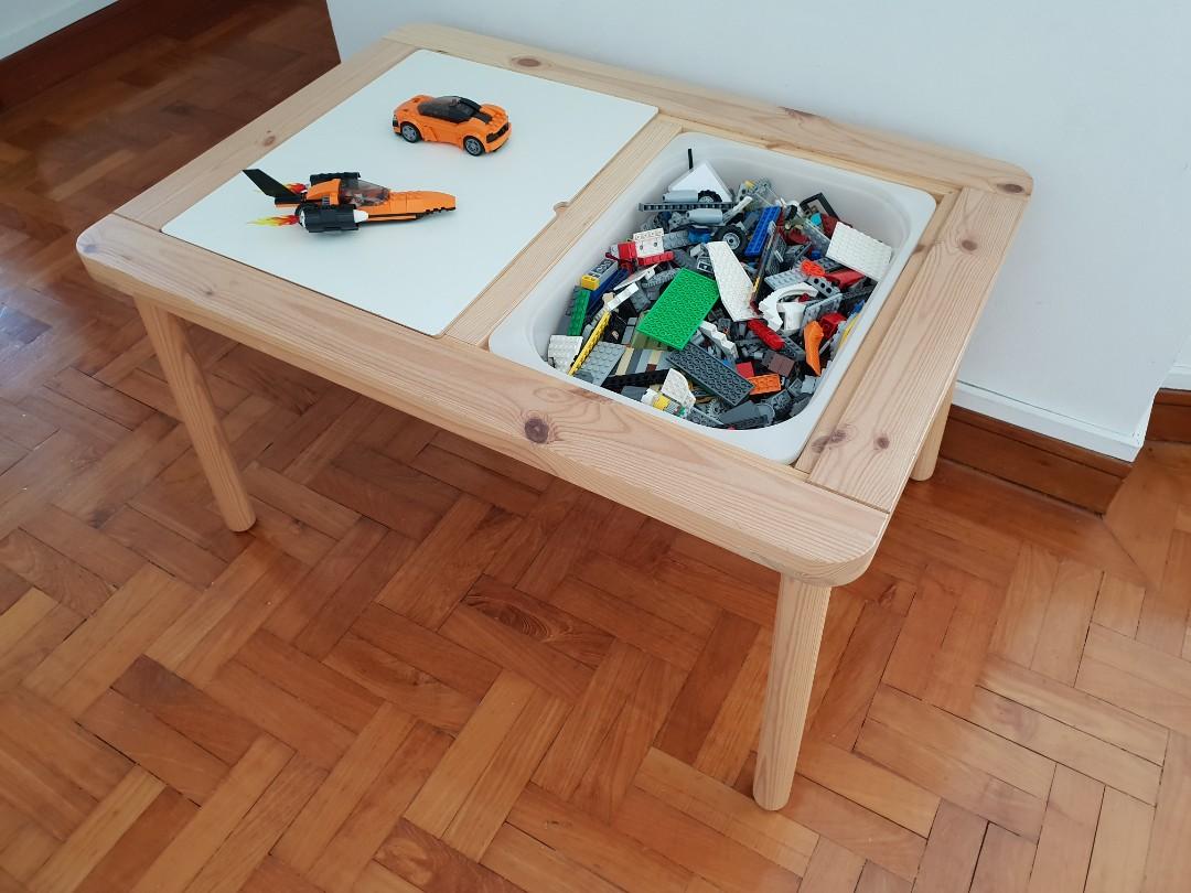 Carousell의 ikea flisat children s table for furniture
