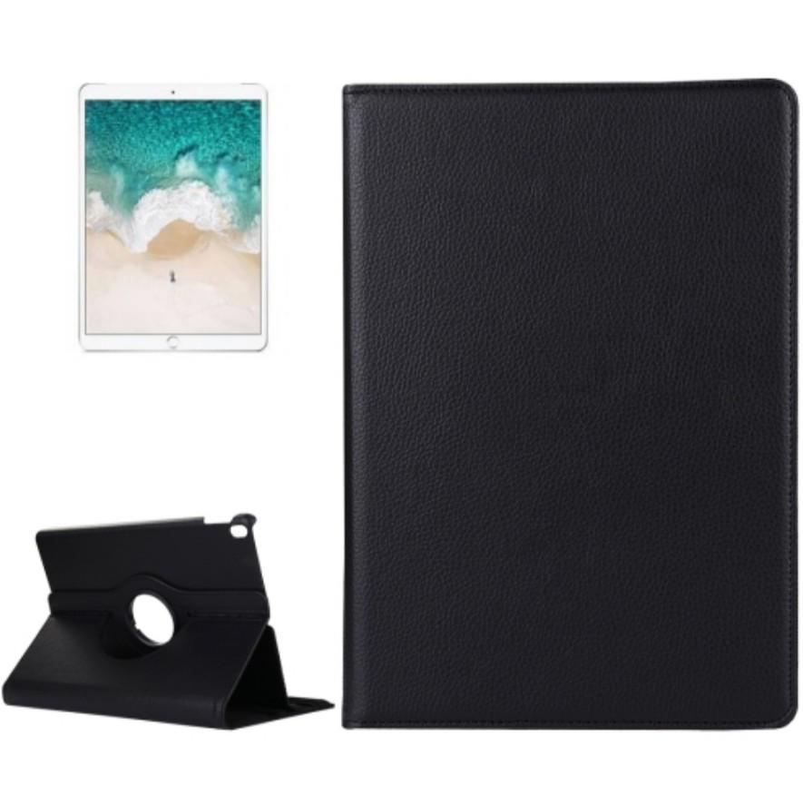 iPad Pro 10 5 inch Litchi Texture Flip Leather Case(Black
