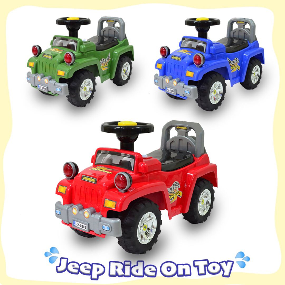 Jeep Ride On Toy Baby Learn To Walk Push Toys Toy Cars Babies