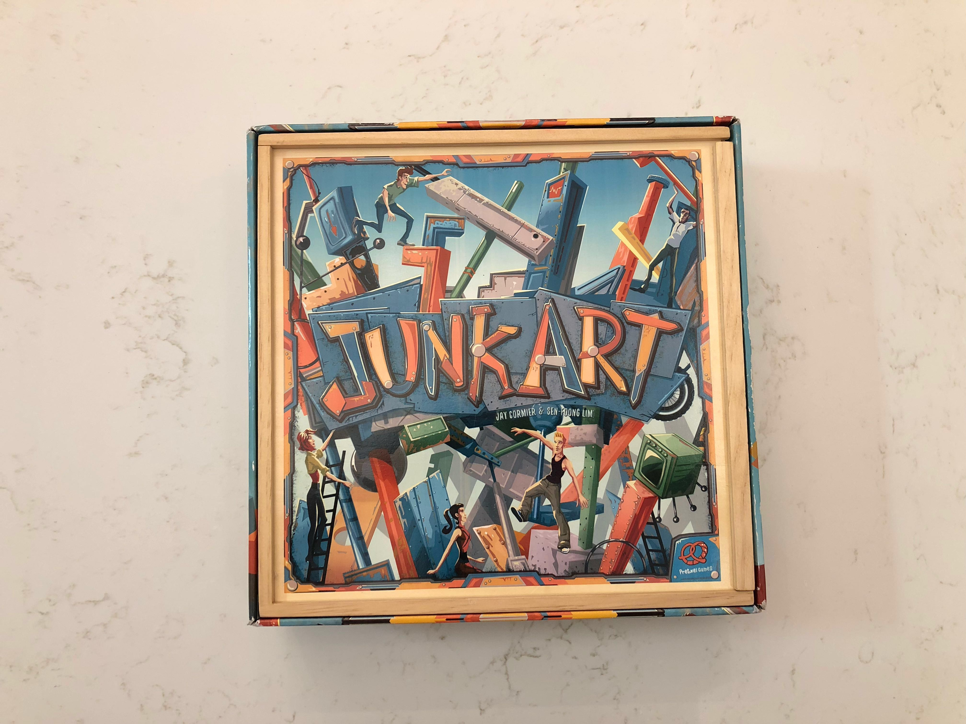 Junk Art Boardgame