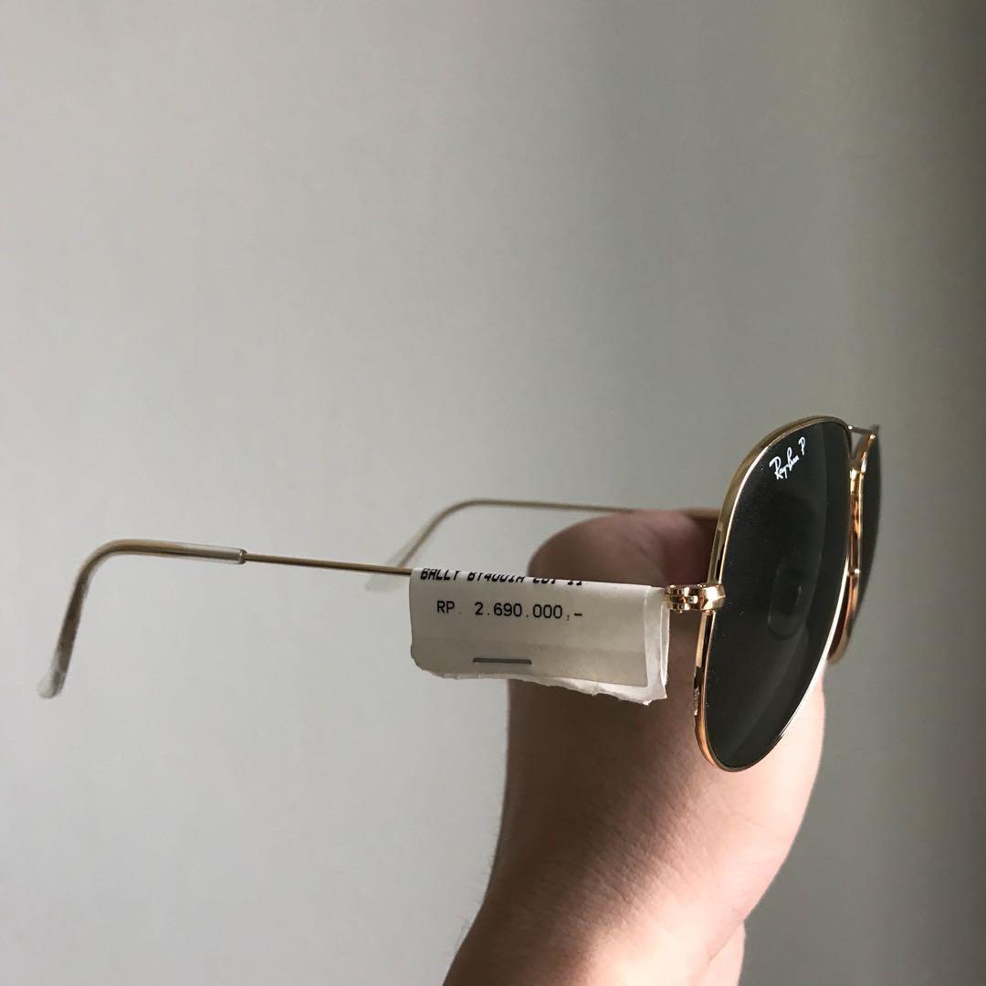 Kacamata / Sunglasses Ray Ban Aviator Original